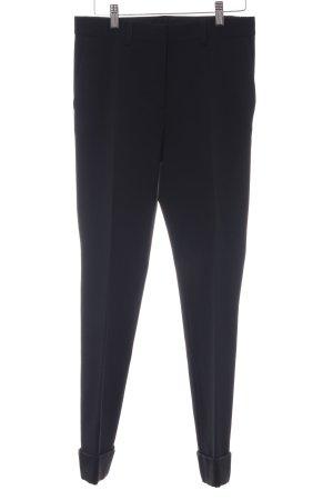 Alberta Ferretti Pantalon de costume noir style d'affaires