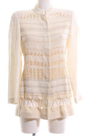 Alberta Ferretti Blouse Jacket cream casual look