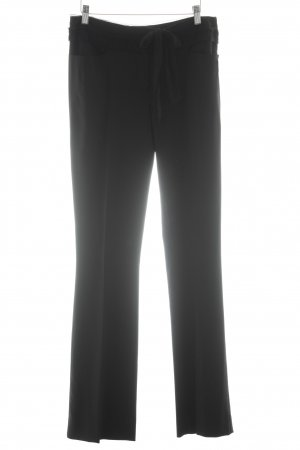Alberta Ferretti Pantalone a pieghe nero stile professionale