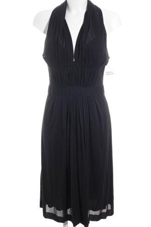 Alberta Ferretti Vestido de cóctel negro elegante
