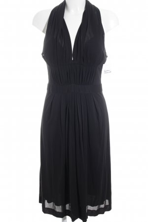 Alberta Ferretti Cocktailkleid schwarz Elegant
