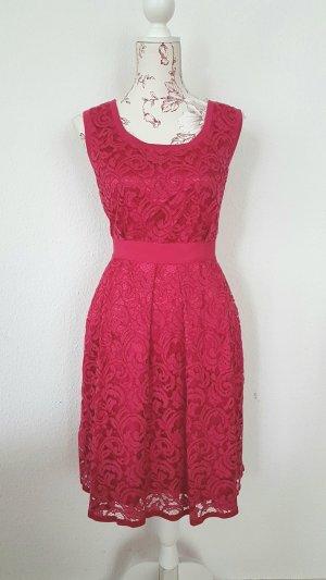 Alberta Ferretti Lace Dress raspberry-red-pink