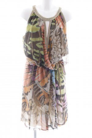 Alberta Ferretti Maxi-jurk abstract patroon Beach-look