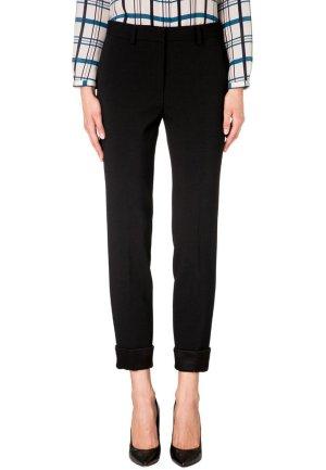 Alberta Ferretti Trousers black wool