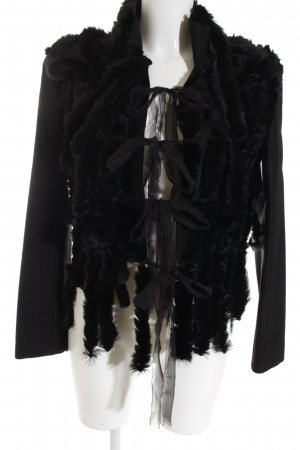 Alberta Ferretti Between-Seasons Jacket black elegant