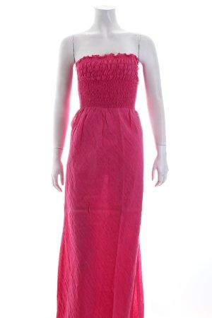 Alberto Aspesi Bandeaukleid pink Romantik-Look