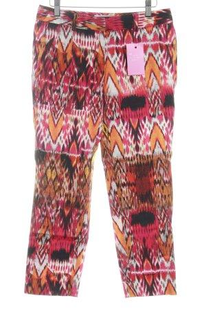Alberto Biani Jersey Pants abstract pattern street-fashion look