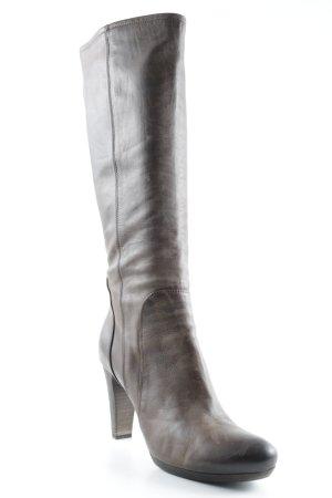Alberto Fermani Stivale con tacco marrone-marrone-grigio stile casual