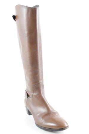 Alberto Fermani Jackboots brown-light brown simple style