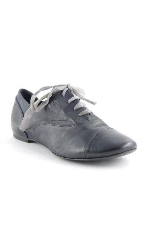 Alberto Fermani Chaussures à lacets noir style décontracté