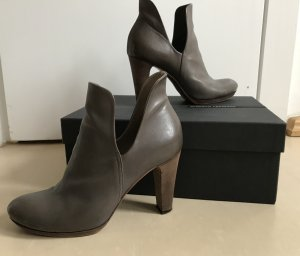 Alberto Fermani Stiefeletten Stiefel grau taupe 39 High Heels