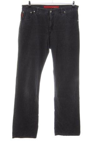 Alberto Five-Pocket Trousers black casual look