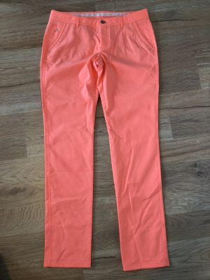 Alberto Stretch Trousers apricot-raspberry-red