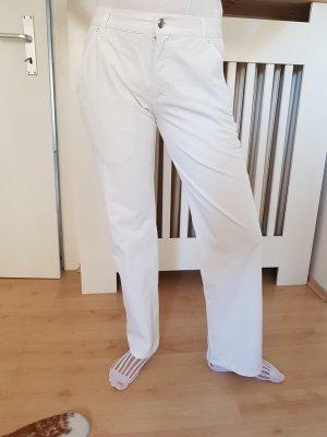 Alberto Pantalón blanco-blanco puro