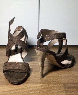 Alberto Gozzi Sandalias de tiras marrón