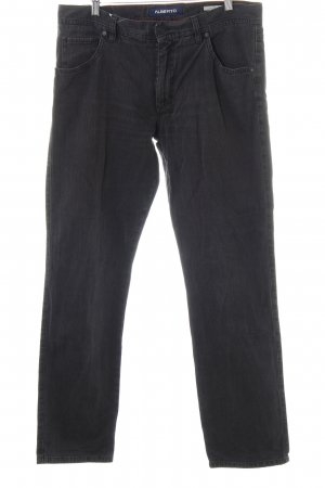 Alberto High-Waist Hose Karomuster Casual-Look