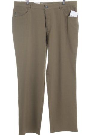 Alberto Jersey Pants green grey casual look