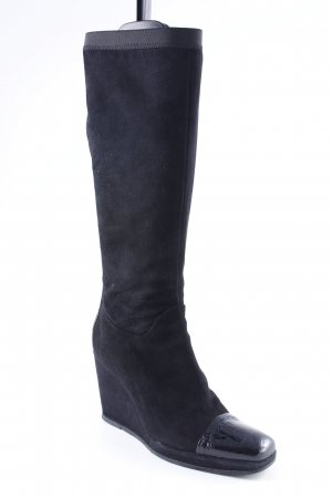 alberto zago Heel Boots black casual look