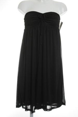 Alcott Vestido bandeau negro elegante
