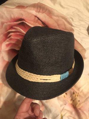 Alcott Damen Strohhut Stroh Hut blau wie neu
