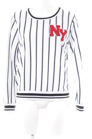 Alcott Sweatshirt Streifenmuster Casual-Look