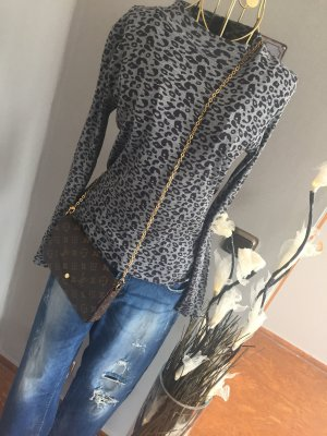 Anastacia Geribd shirt veelkleurig