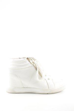 Aldo Heel Sneakers white casual look