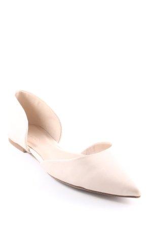 Aldo Ballerinas mit Spitze creme Casual-Look
