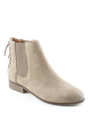 Aldo Chelsea Boots beige Street-Fashion-Look