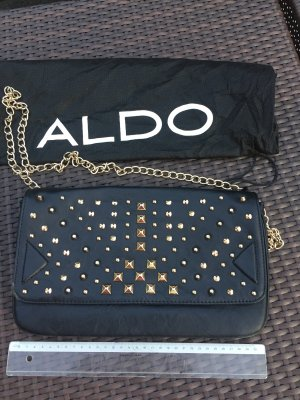 Aldo Clutch black-gold-colored