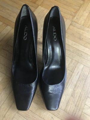 ALDO echt Leder Schuhe Pumps High Heels 39
