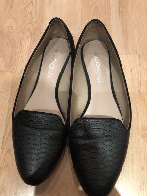 Aldo Opbouwbare ballerina's zwart