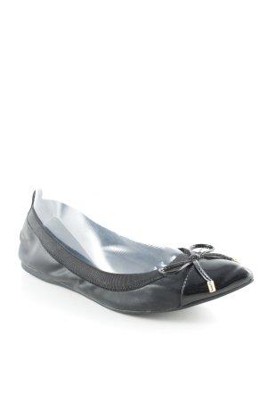 Aldo Ballerines pliables noir élégant