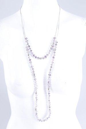 Aldo Halsketten-Set silber-lila