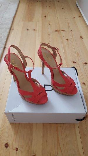 ALDO High Heel Sandaletten *corall *ungetragen