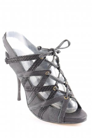 Aldo High Heel Sandal black party style
