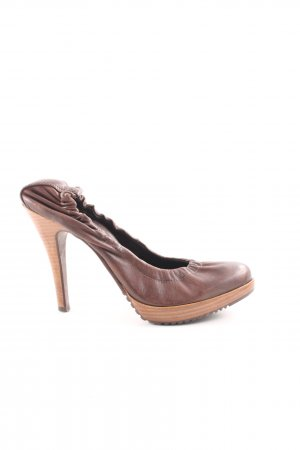 Aldo High Heels braun Business-Look