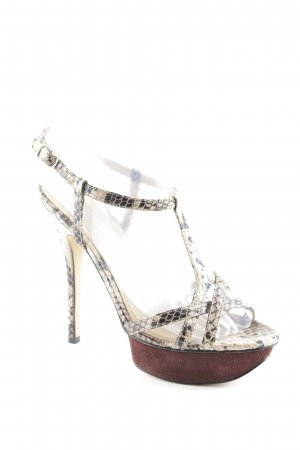 Aldo High Heels Animalmuster Reptil-Optik