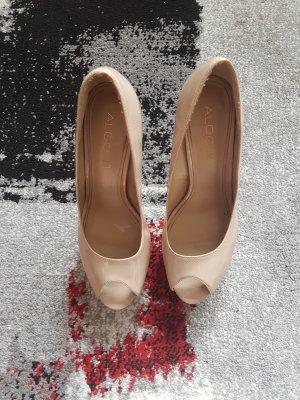 ALDO High Heels aus Lackleder