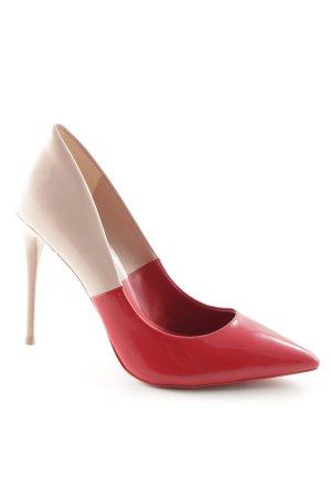 Aldo High Heels nude-rot extravaganter Stil