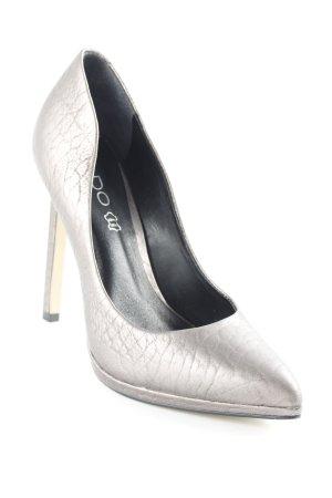 Aldo High Heels silberfarben Elegant