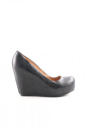 Aldo Keil-Pumps schwarz Casual-Look