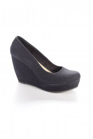 Aldo Keil-Pumps dunkelblau Casual-Look