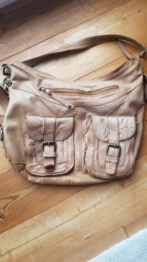 Aldo Handbag cognac-coloured
