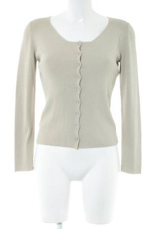 ALDO MARTIN'S Giacca in maglia grigio chiaro stile casual