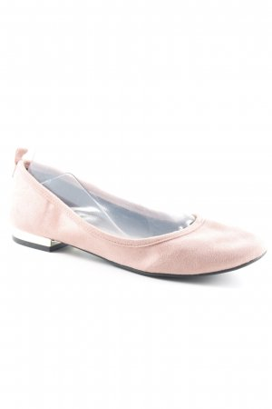 Aldo Mary Jane Ballerinas dusky pink-gold-colored business style