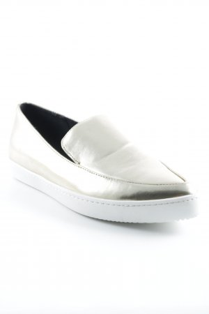 Aldo Moccasins gold-colored-white extravagant style
