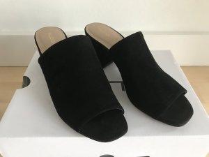 ALDO Mules Sandaletten Pantoletten schwarz 38 Trend NEU