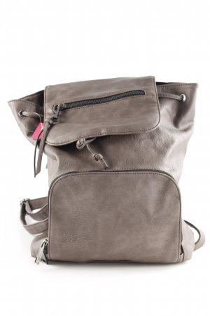 Aldo Laptop Backpack taupe-grey brown casual look