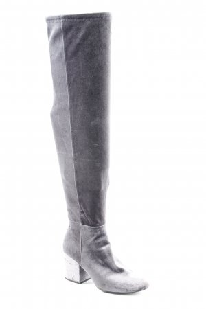 Aldo Cuissarde gris fibre textile
